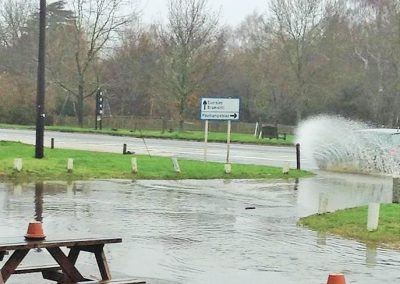 eversley cross flooding (2)